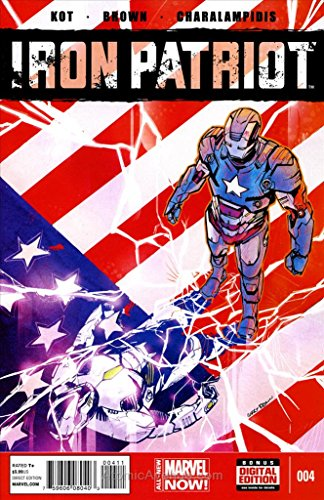 Iron Patriot #4 VF ; Marvel comic book