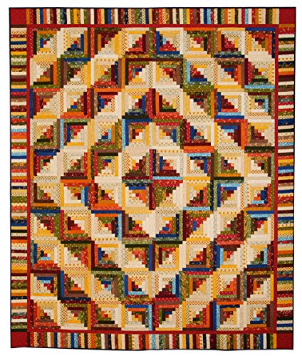 Connecting Threads Quilting (Connecting Threads Heirloom Log Cabin Quilt Kit)
