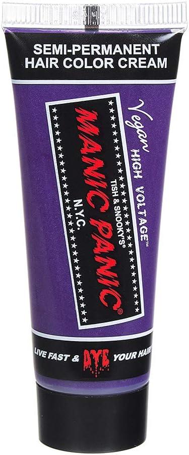 Ultra violeta, semi permanente muestra de tinte para el cabello púrpura - Manic Panic