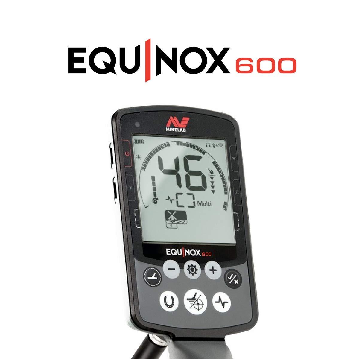 Minelab Equinox 600 Multi-iq Detector de Metales con EQX 11