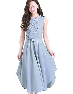 8c43c1a1804e6 プールヴー パーティードレス ワンピース ドレス お呼ばれ 女子会 レディース