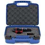 Sturdy Video Microphone Carrying Case - Carry Rode VMPR VideoMic Pro R With Rycote Lyre Shockmount, Wind Cover And Accessories- Blue