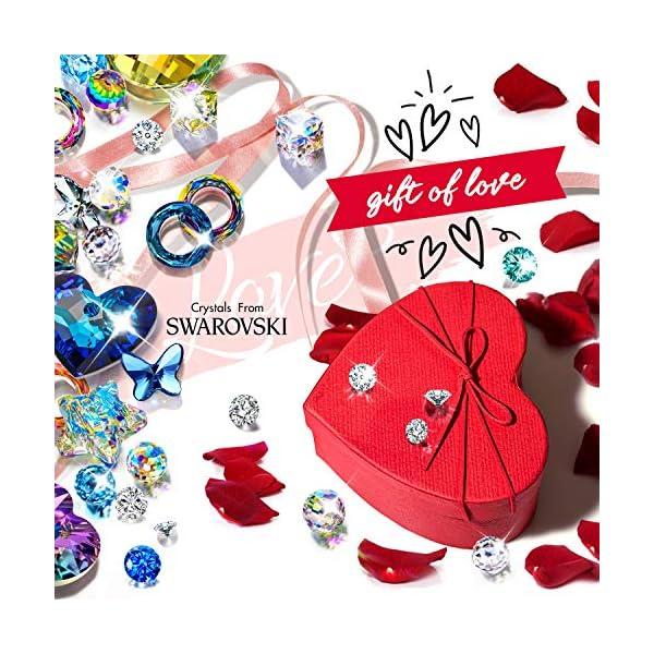 Kami Idea Collane da Donna - Il Mio Fatidico Amore - Ciondolo Cuore a Cuore, Regalo di Natale, Gioielli da Donna in Oro… 4