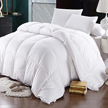oversized cal king down comforter Amazon.com: Cozy oversized winter filled Goose Down comforter  oversized cal king down comforter