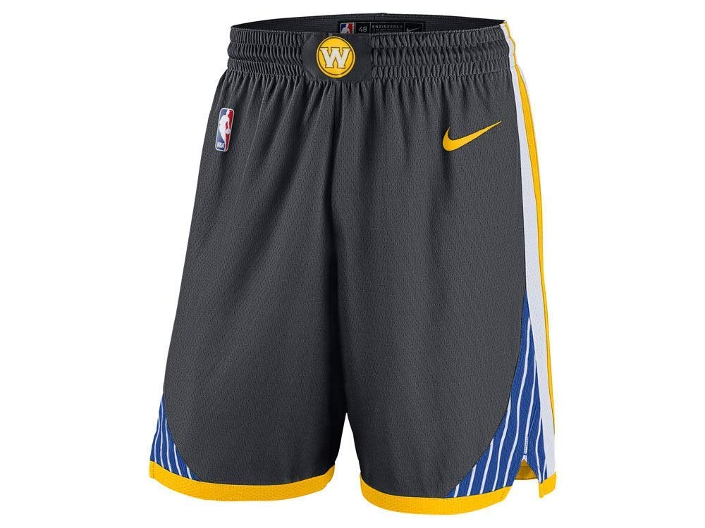 M, Golden State Nero Lalagofe Golden State Warriors Shorts Pantaloncini Neri Kevin Durant Stephen Curry