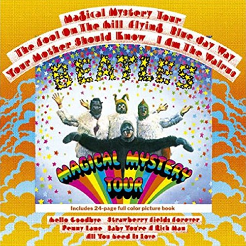 The Beatles Magical Mystery Tour Album New Official Any Occasion Greeting Card ()