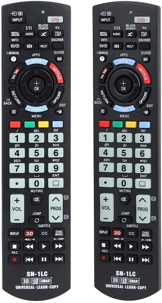 Universal SONY-1LC Remote Control for All Sony Bravia TV Sony LED/LCD/3D TV, Smart TV