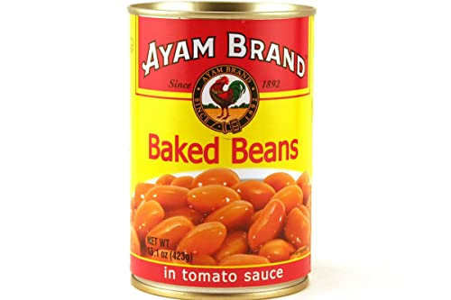 Ayam Baked Beans in Tomatoes Sauce