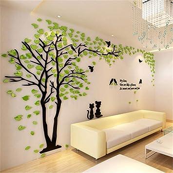 Amazon Com Wall Stickers For Bedroom Creative Tree 3d Wall