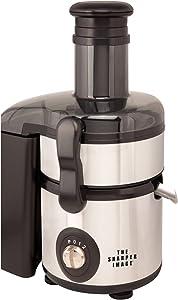 The Sharper Image 600-Watt/2 Speed and Pulse Stainless Steel Juicer-Blender Combo