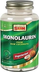 Monolaurin 990 Milligrams 90 Veg Capsules