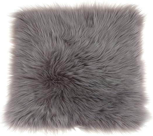 LOVIVER Artificial Sheepskin Area Rug Fluffy Warm Seat Cushion Home Chair Cover