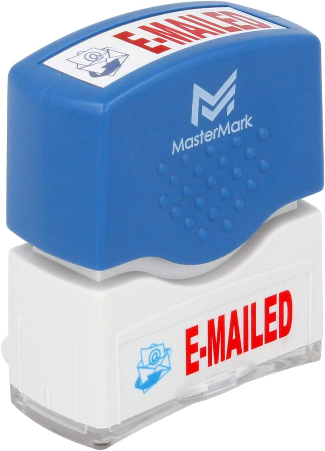 Emailed Stamp – MasterMark Premium 2-Color Pre-Inked Office Stamp