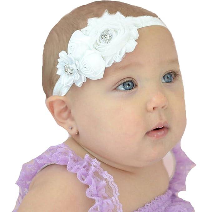 queengirls infantil niños bebé recién nacido lazos para el pelo de ...