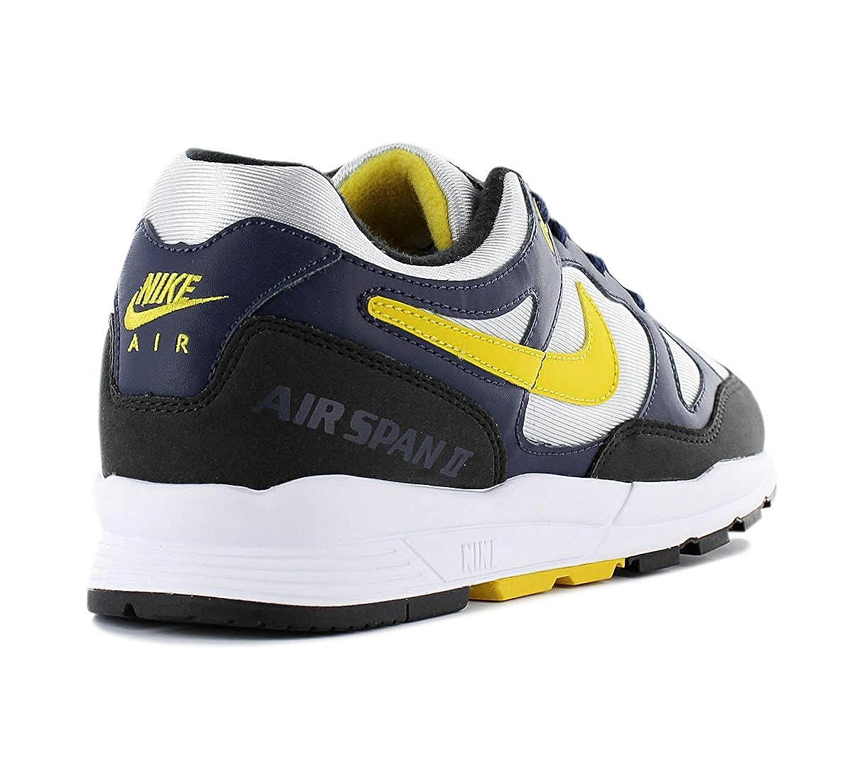 Nike Herren Air Span Ii Laufschuhe, schwarzweiß, 8.0 EU