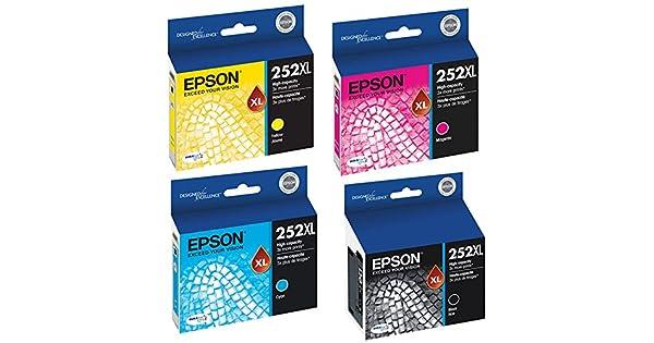 Amazon.com: Epson T252 X L120, T252 X L220, T252 X L320 ...
