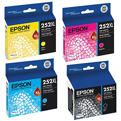 Epson T252XL120, T252XL220, T252XL320, T252XL420 High Yield