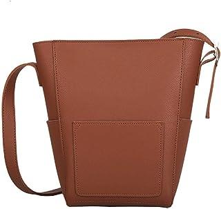 Barlingrock Women Wild Messenger Bag Casual Sac à bandoulière Retro Bucket Bag, Sacs à main pour femme, Sac à bandoulière Messenger, Sac à bandoulière rétro pour femme Sacs à main pour femme