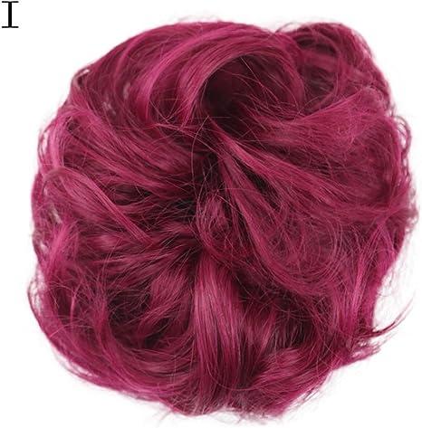 Peluca para mujer Wyxlink, peluca rizada para peluquería, extensiones de peluquería