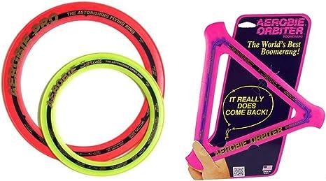 Aerobie 13 Pro Ring And Aerobie 10 Sprint Ring