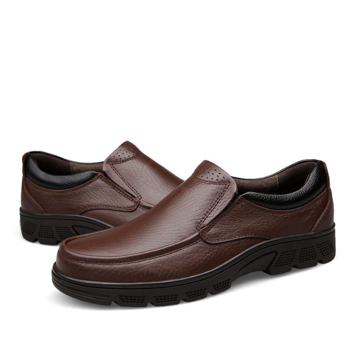 GTYMFH Herbst Und Winter Winter Winter Business Freizeit Schuhe Männer Dickes Ende Atmungsaktiv Füße Spitzenschuhe Für Männer 6fb054