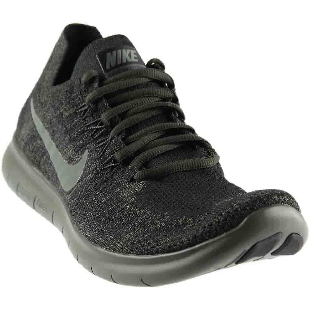 schwarz Running 2017 Flyknit RN Free Mens Nike River schuhe