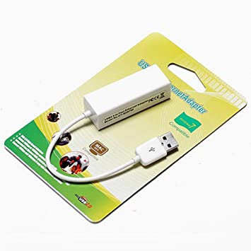 HIPENGYANBAIHU Adaptador Ethernet USB 2.0 10 / 100Mbps USB a ...