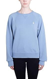 78c99ac86d37 Polo Ralph Lauren Damen Poloshirt Blau Azzurro Mélange Einheitsgröße