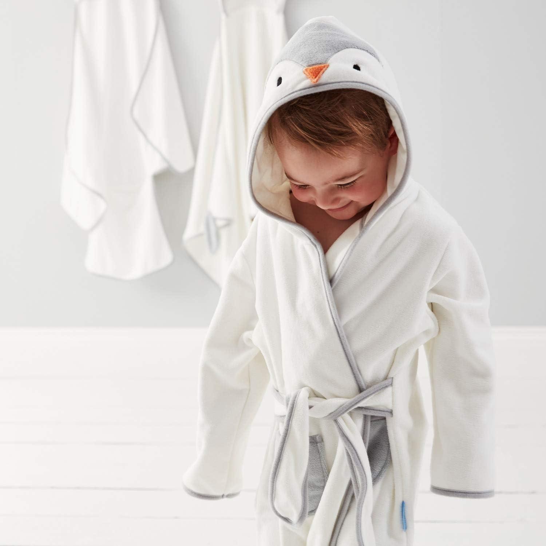 Poppy il Pinguino Tommee Tippee CCA1003 GRO Accappatoio Neonato con Cappuccio Grorobe