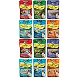Earthborn Holistic Grain Free Wet Cat Food Pouches, 6 Flavors, 3-Ounces Each (12 Total Pouches) Larger Image