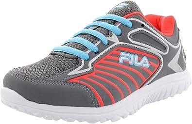 Fila Rocket Fueled - Zapatillas de Running para niño, Gris (Gris ...