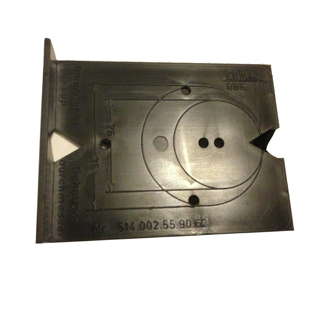 Jig Template for Kitchen,Bedroom,Bathroom Cabinet Hinges and Mounting Plates Grass
