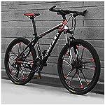 Bicicletta, 26 Pollici 21 velocità Bicicletta Mountain Bike, Bicicletta, Biciclette Sospensioni Anteriori Doppio Freno A…