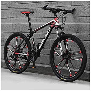 26 Pollici 21 velocità, ABicicletta, Bicicletta Mountain Bike, dulto Bicicletta MTB, Biciclette, Doppio Freno A Disco…