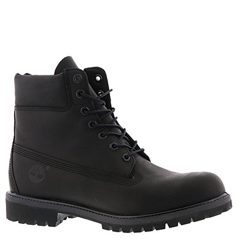 Timberland Men's 6-Inch Premium Waterproof Boots Black Riptide Galloper 9.5 M