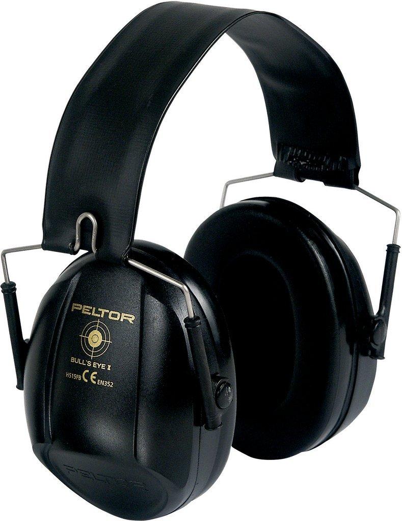 Peltor Bull's Eye I Ear Defenders 27 dB Black Foldable H515FB-516-SV 3M H515FB516SV