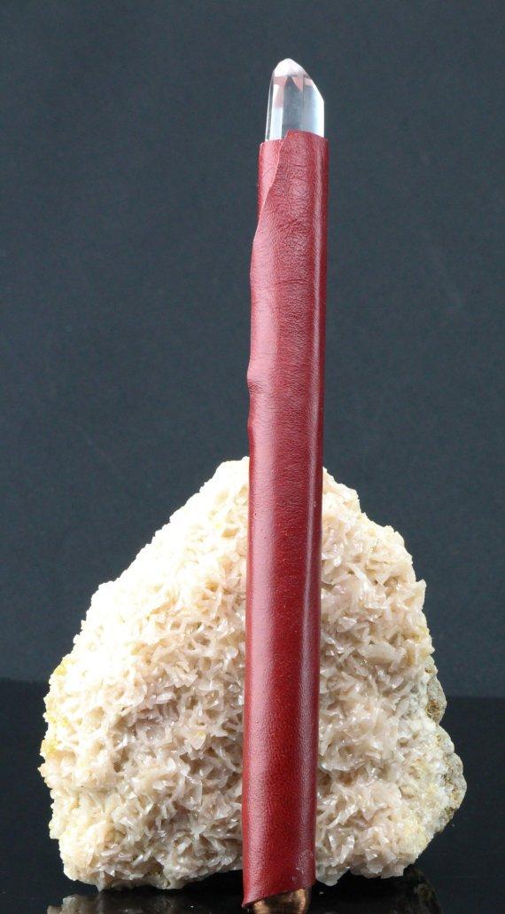 Lemurian Quartz Wand, Handcrafted Energy Tool, Healing Crystals Love