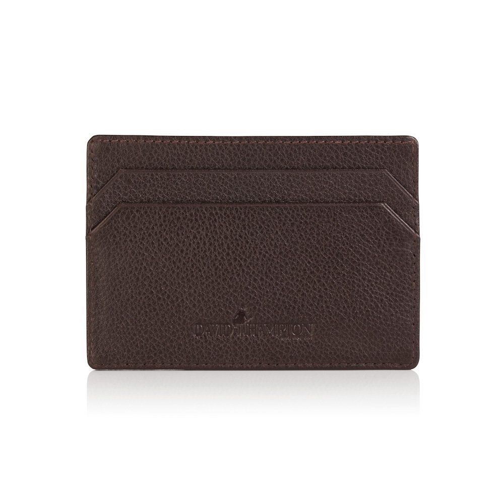 David Hampton Luxury Leather Slim Card Holder Malvern 450-MAOR