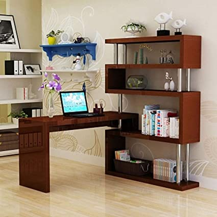 Amazon.com: DBJ Home Life Computer Desk, Bedroom Rotating ...