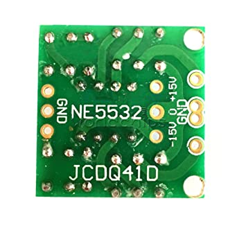 AST Works Dual OP Amp Preamp DC Amplification Empty Board for NE5532