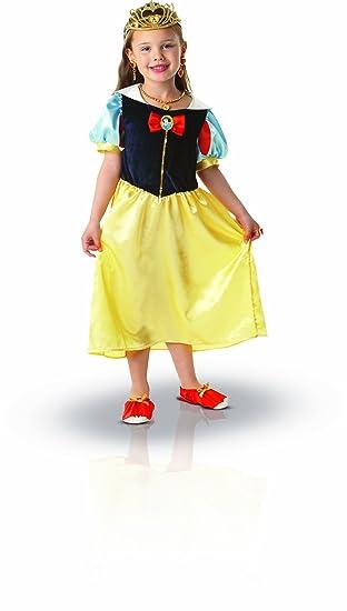 Princesas Disney - Disfraz de Blancanieves con accesorios para ...