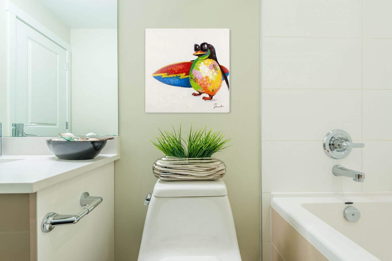 Kunstloft® Cuadro en acrílico Paraíso de surfistas 50x50cm ...