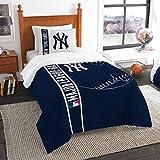 Sporting Goods : Northwest New York Yankees MLB Twin Comforter Set