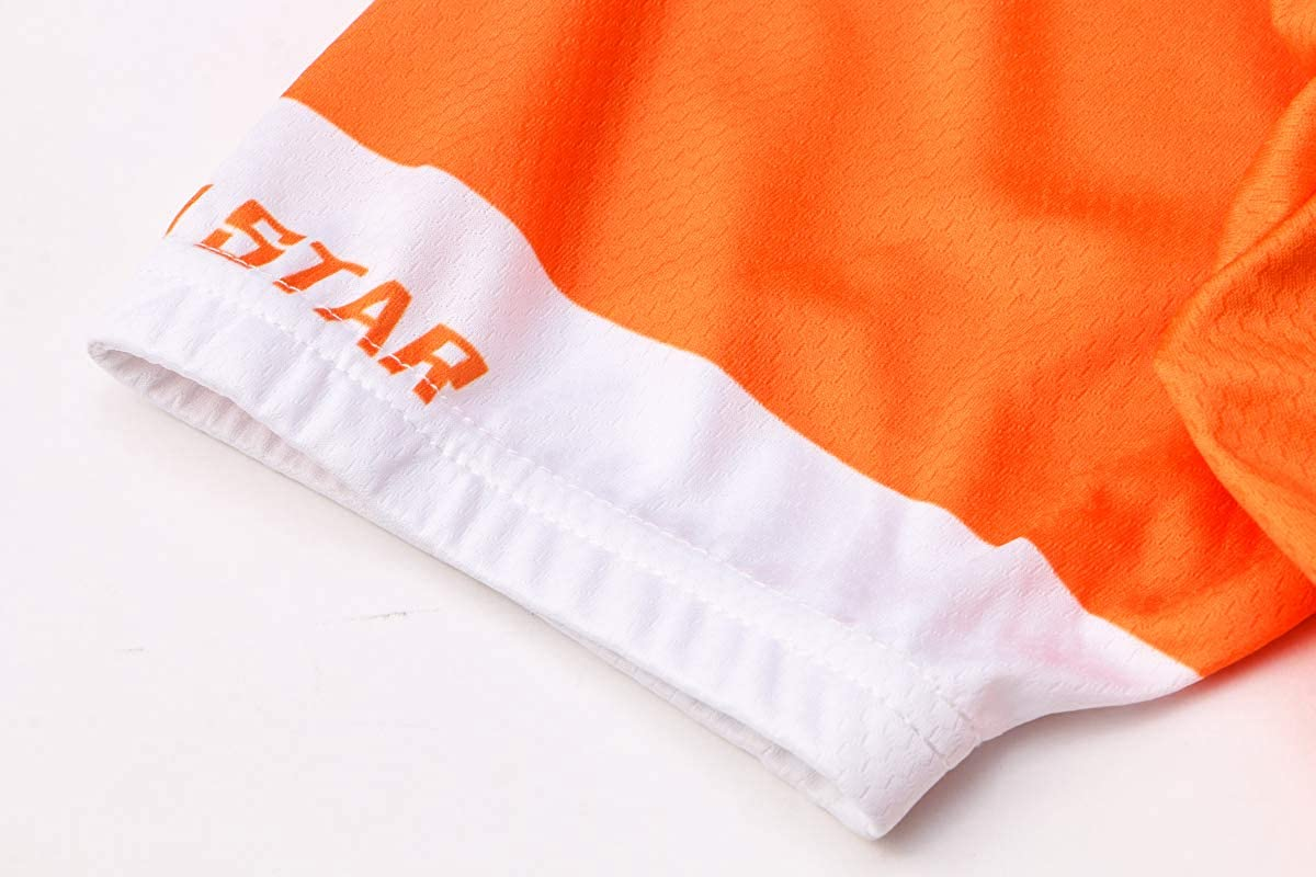 JPOJPO manga corta transpirable Camiseta de ciclismo para hombre de secado r/ápido