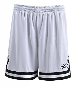 K1X Hardwood Double X Shorts mk2 Basketball wei/ß-schwarz Damen