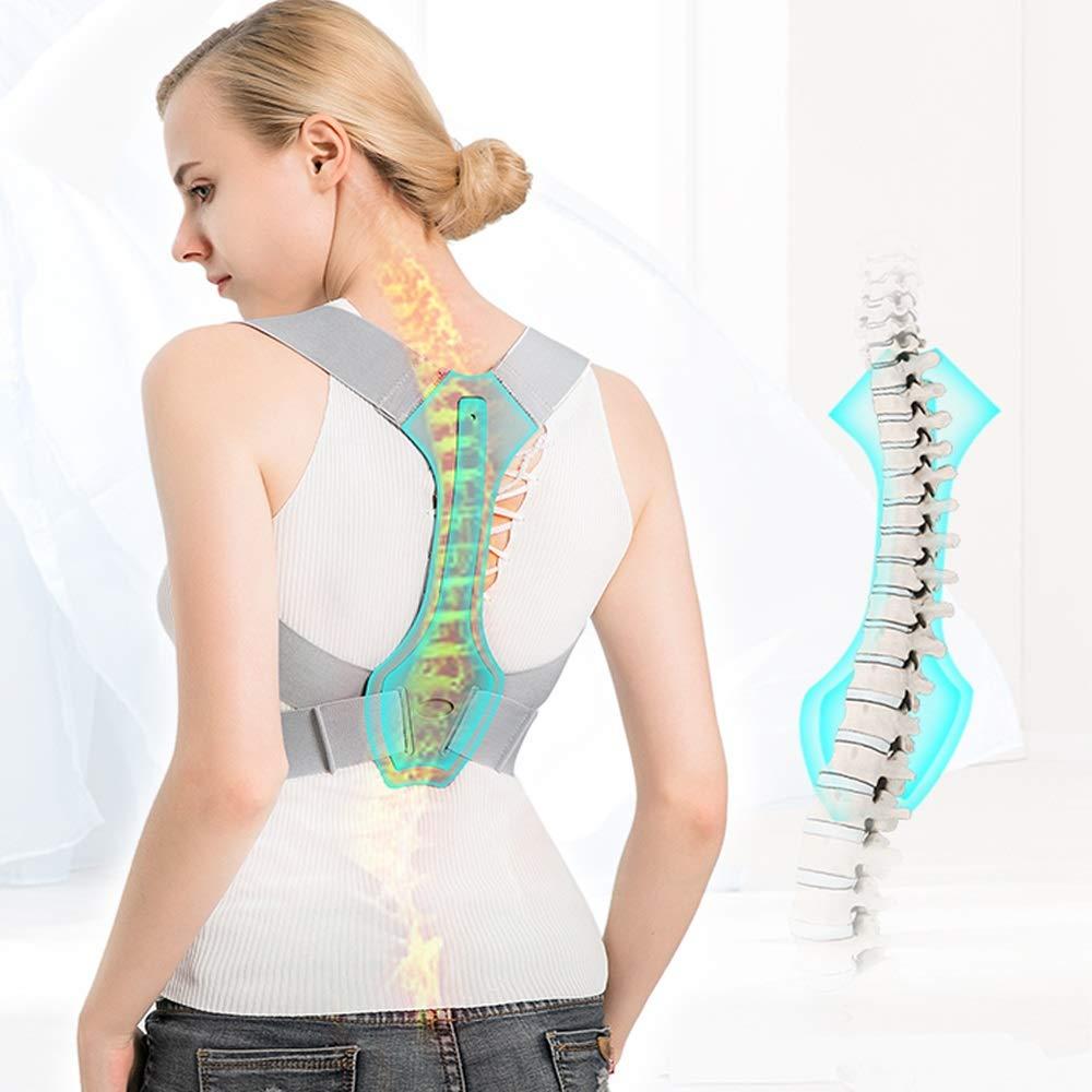 BLWX - Back Support Belt -Men and Women Invisible Correction Clothing Hunchback Correction Belt Treatment Anti-Humpback Correction Spine Correction Belt Humpback Correction Belt (Size : S) by BLWX-Humpback correction belt (Image #5)