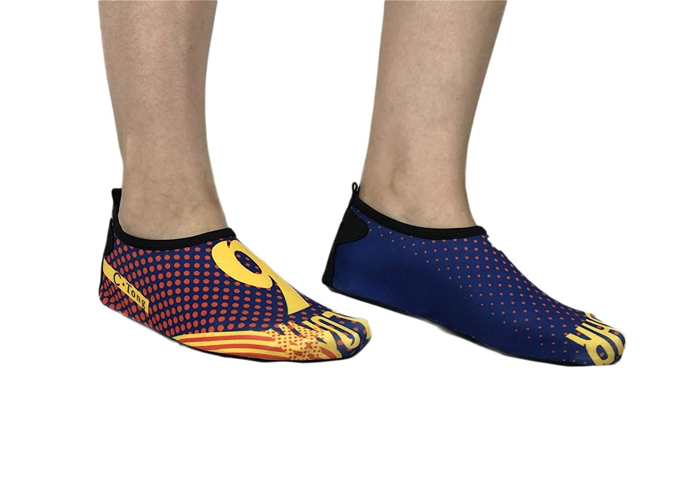 Vanbuy Water Shoes for Womens and Mens Barefoot Summer Shoes Quick Dry Aqua Socks for Beach Swim