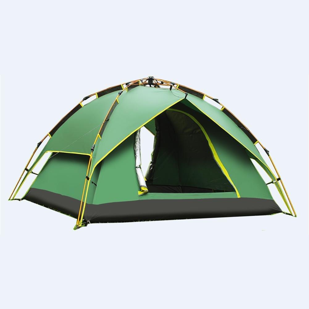 MIAO Im Freien Aluminiumpole Drei doppelte kampierende automatische Zelte