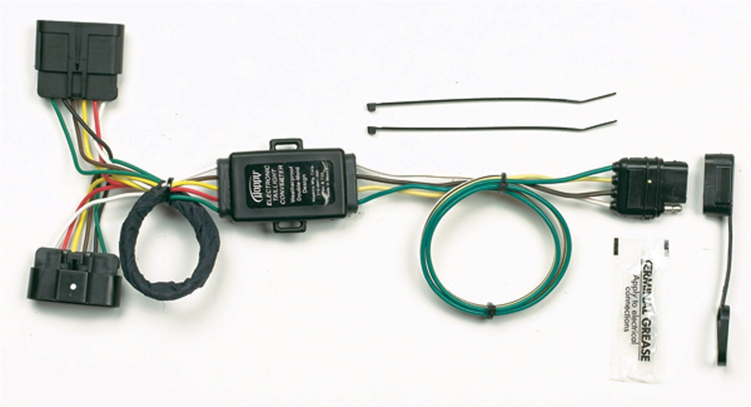 61exX8uloML._SL1500_ amazon com hopkins 41165 plug in simple vehicle wiring kit hoppy wiring harness at crackthecode.co