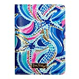 Lilly Pulitzer Women's Passport Cover Ocean Jewels, Multi, No Size